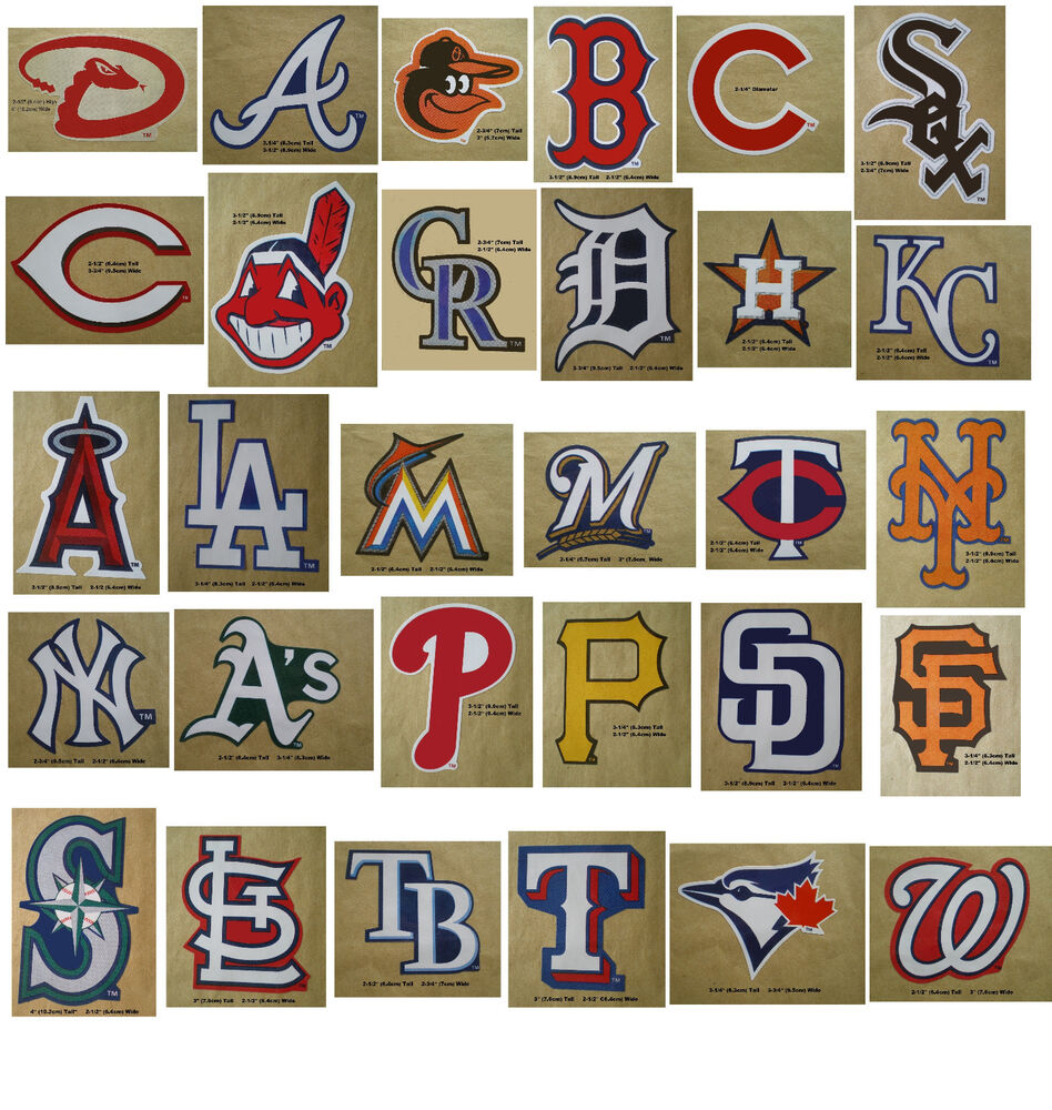Baseball Team Logo Decal Stickers Mlb Licensed Choose From