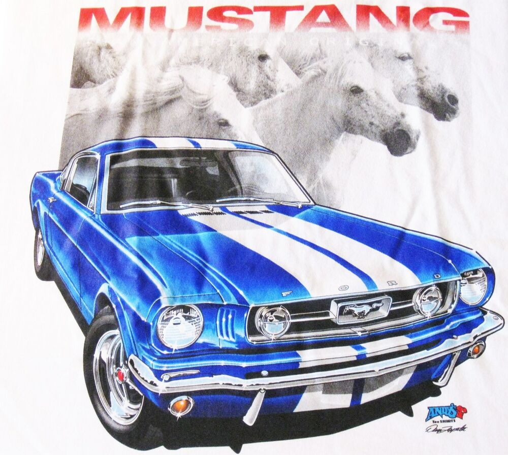 Shelby Cobra Gt 350 Ford Mustang T Shirt Vintage Muscle