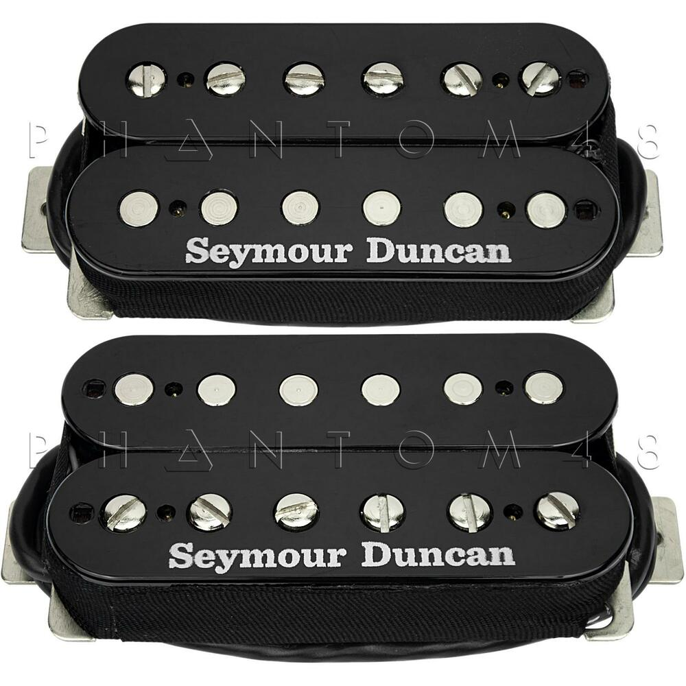 Seymour Duncan SH-4 JB & SH-2n Jazz HOT RODDED Humbucker Pickup ...