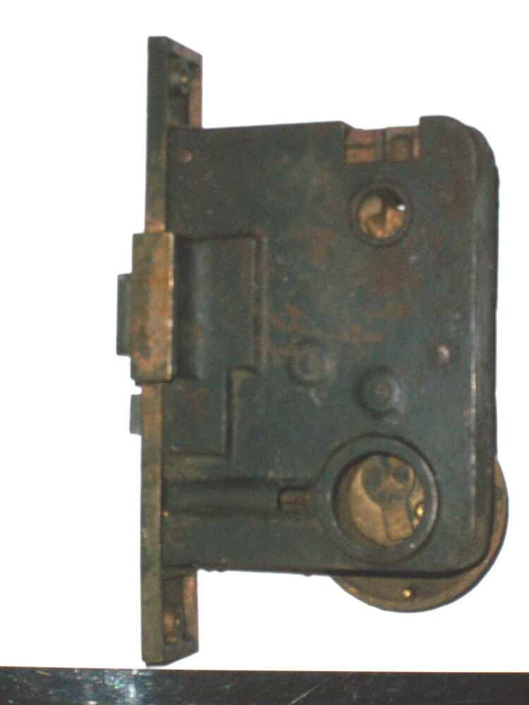 Antique Von Duprin Mortise Lock For Thumb Latch Style