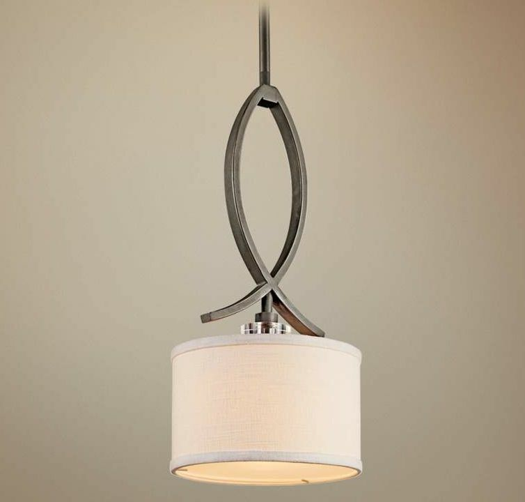 Small Pendant Lights For Kitchen: Kichler Mini Pendant 1 Light 42484 Old Bronze For Kitchen