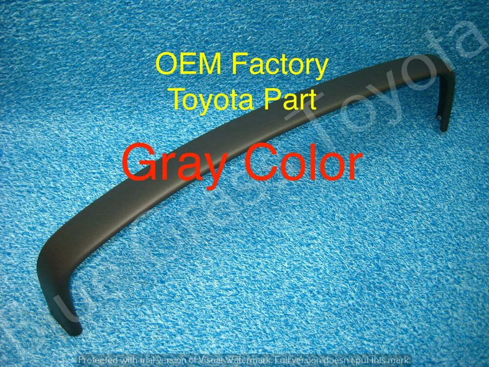 toyota truck pickup upper dash trim bezel top gray new oem. Black Bedroom Furniture Sets. Home Design Ideas