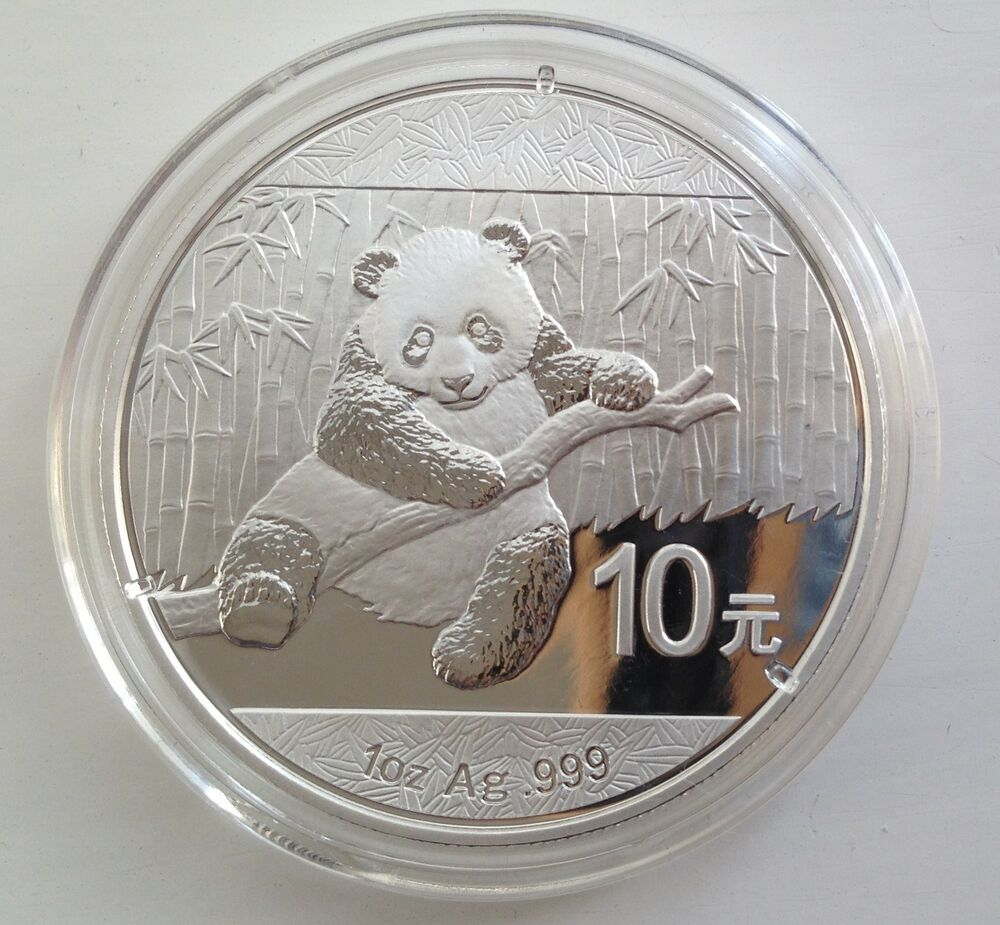 2014 Silver Chinese Panda 1oz 999 Silver Bullion Coin