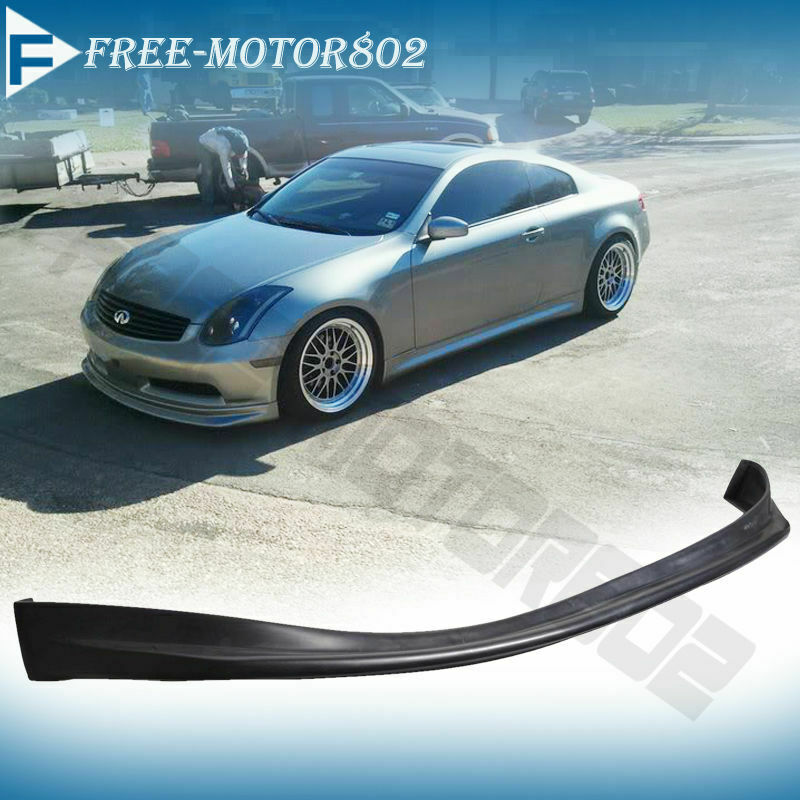 FOR 03-06 INFINITI G35 COUPE NIS STYLE FRONT BUMPER LIP ...