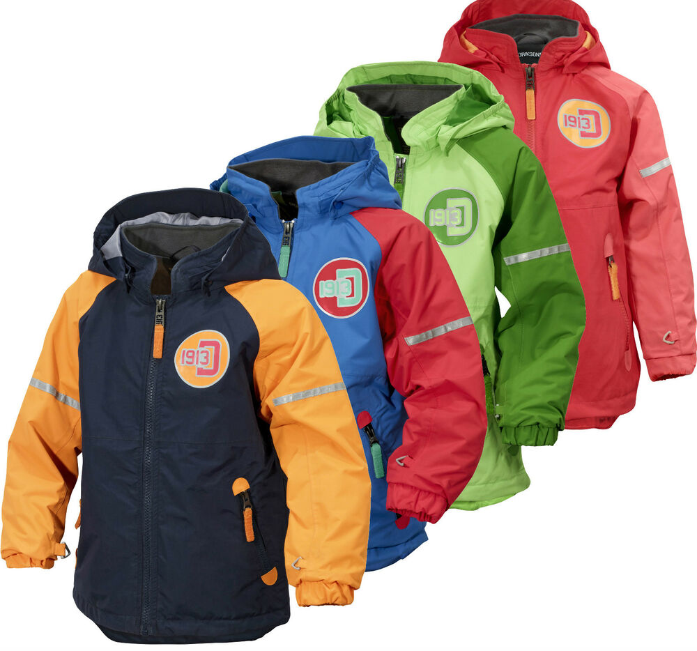 Didriksons Emin Kids Jacket Lightweight Waterproof ...