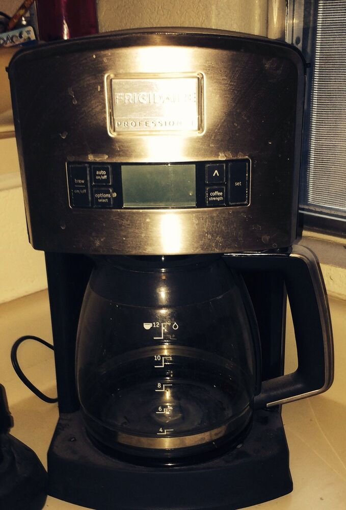 Frigidaire Coffee Maker Water Filter : Frigidaire Coffee Maker Professional eBay