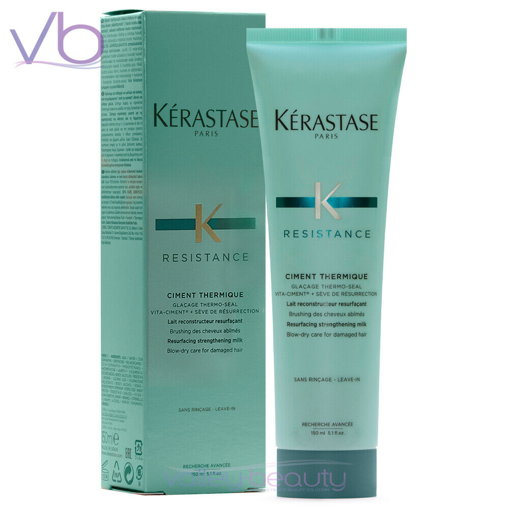 Kerastase resistance ciment thermique 150ml new sealed in the box leave in - Resistance thermique ytong ...