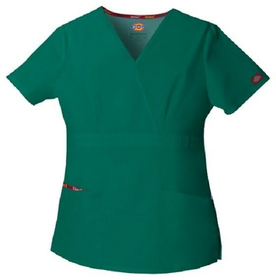 Browse our selection of Dickies scrubs including plus size and colored scrubs for men and women today, and purchase high-quality medical uniform you know you can rely on. Moreover customize your orders easily, whether you're looking for a single monogrammed Dickies lab coat or a bulk order of Dickies scrub tops with embroidered logo.