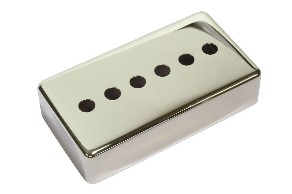 center hole single coil humbucker size pickup cover nickel plated 49mm ebay. Black Bedroom Furniture Sets. Home Design Ideas