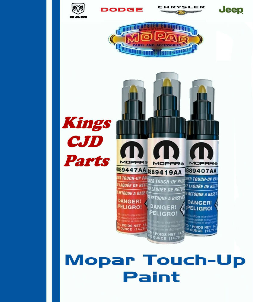 touch up paint chrysler jeep dodge touch up paint inferno 28625