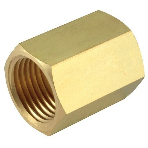 Npt bsp female brass bush connecting adapter for