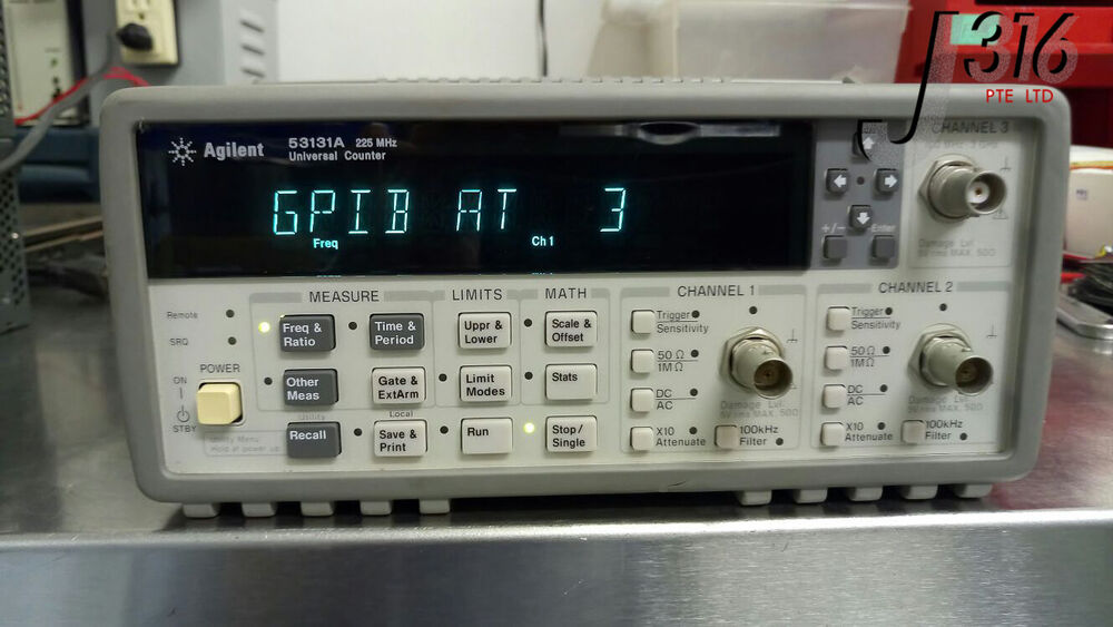 Agilent Frequency Counter : Agilent mhz universal frequency counter timer