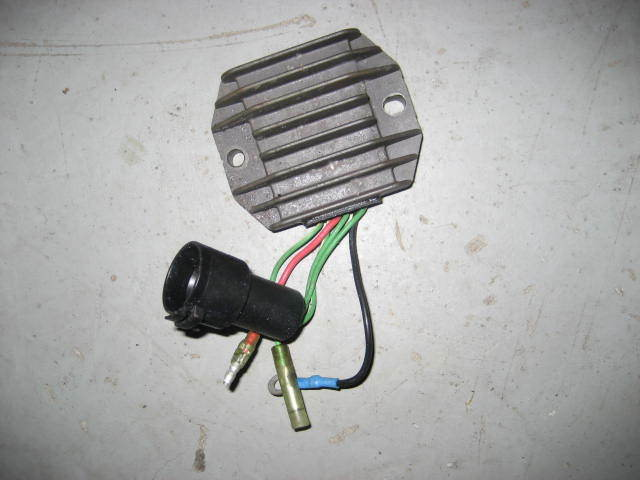 Yamaha outboard 50 hp four stroke rectifier and regulator for Yamaha 50 hp 4 stroke parts