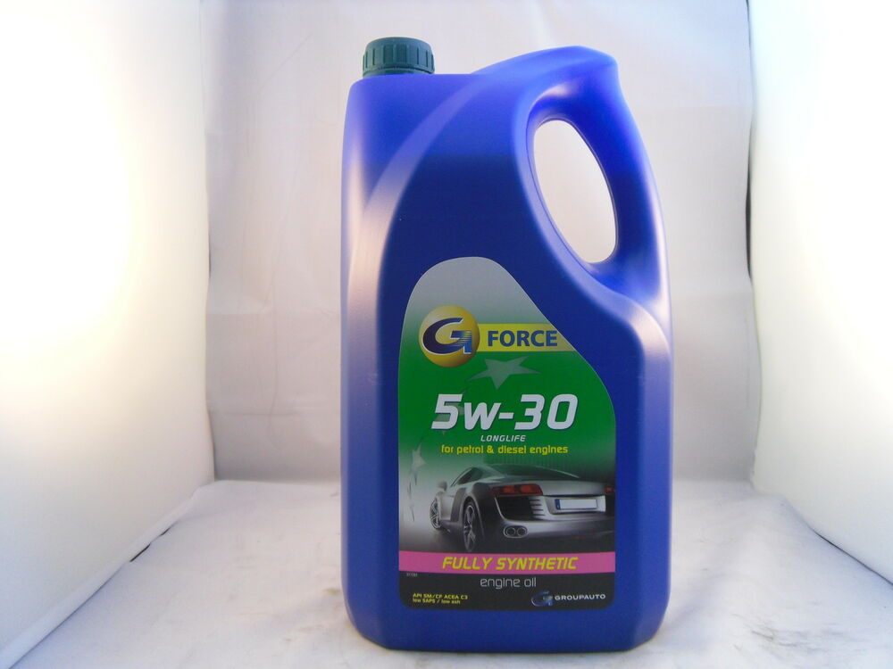 G force 5w30 diesel fully synthetic motor engine oil 5l for 5 30 motor oil