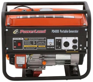 Powerland PD4000 4000W Gas Generator