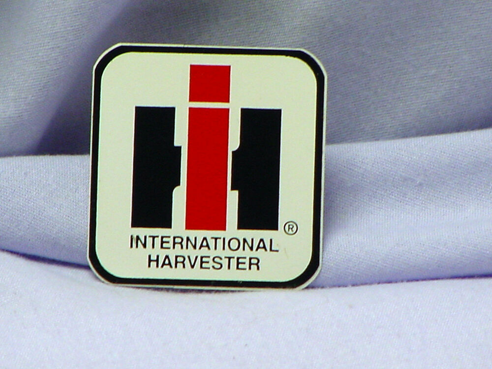 International Harvester Decals And Stickers : International harvester white background ih logo