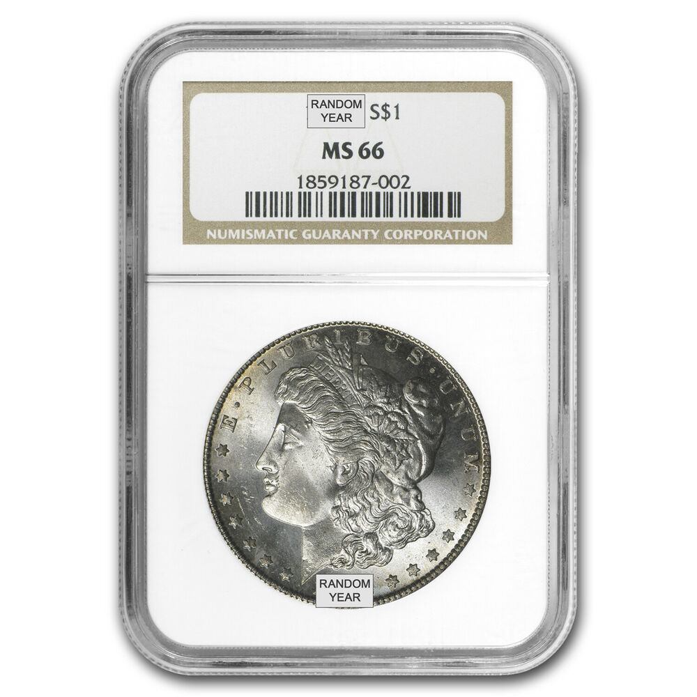 Morgan Silver Dollar Ms 66 Ngc Ebay