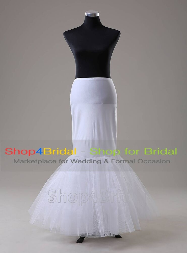 White hoopless fishtail mermaid skirt wedding dress for Wedding dress skirt only