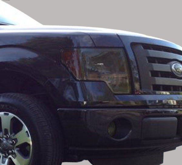 09 14 ford f150 precut headlight foglight tint vinyl smoked covers 5 refu. Black Bedroom Furniture Sets. Home Design Ideas