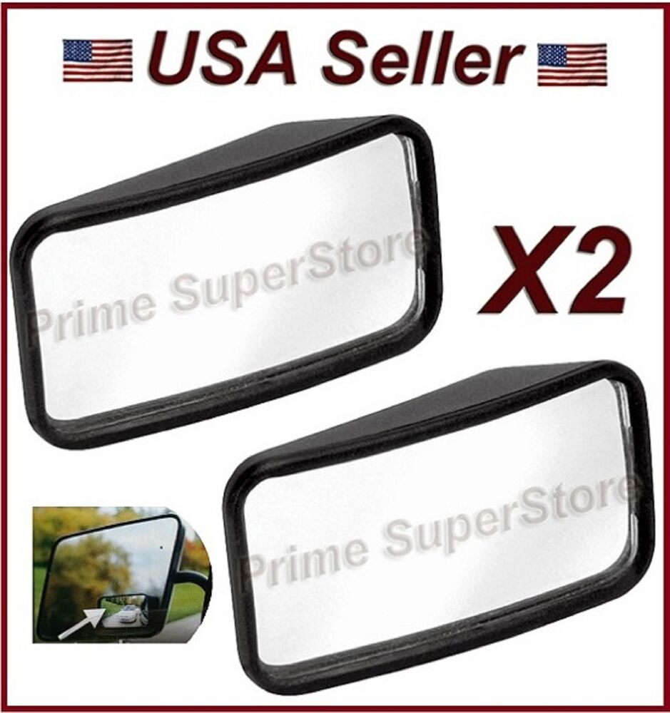 New Side Auxiliary Blind Spot Wide View Mirror X Two Small