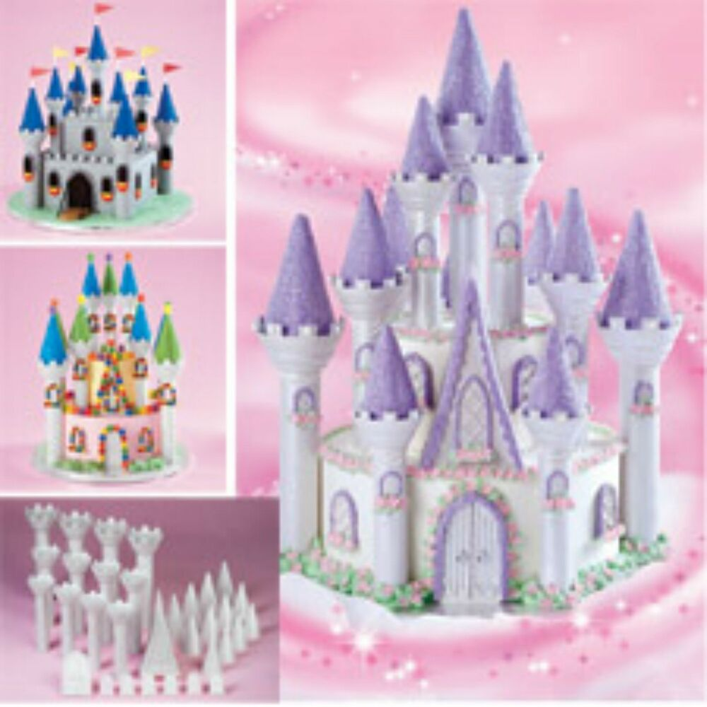 Disney Princess Cake Castle Topper Set