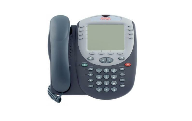how to set time on avaya phone