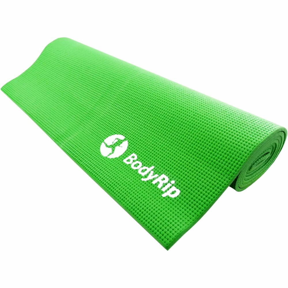 GREEN THICK FOAM YOGA PILATES GYM MAT 6mm FITNESS GYM