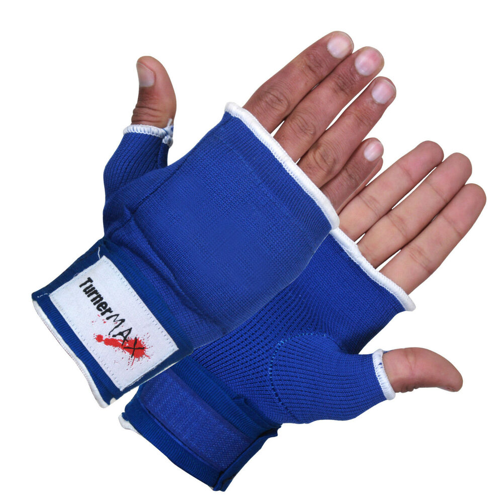 Fitness Inner Gloves: TurnerMAX Boxing Cotton Inner Gloves Wear Wraps Gear