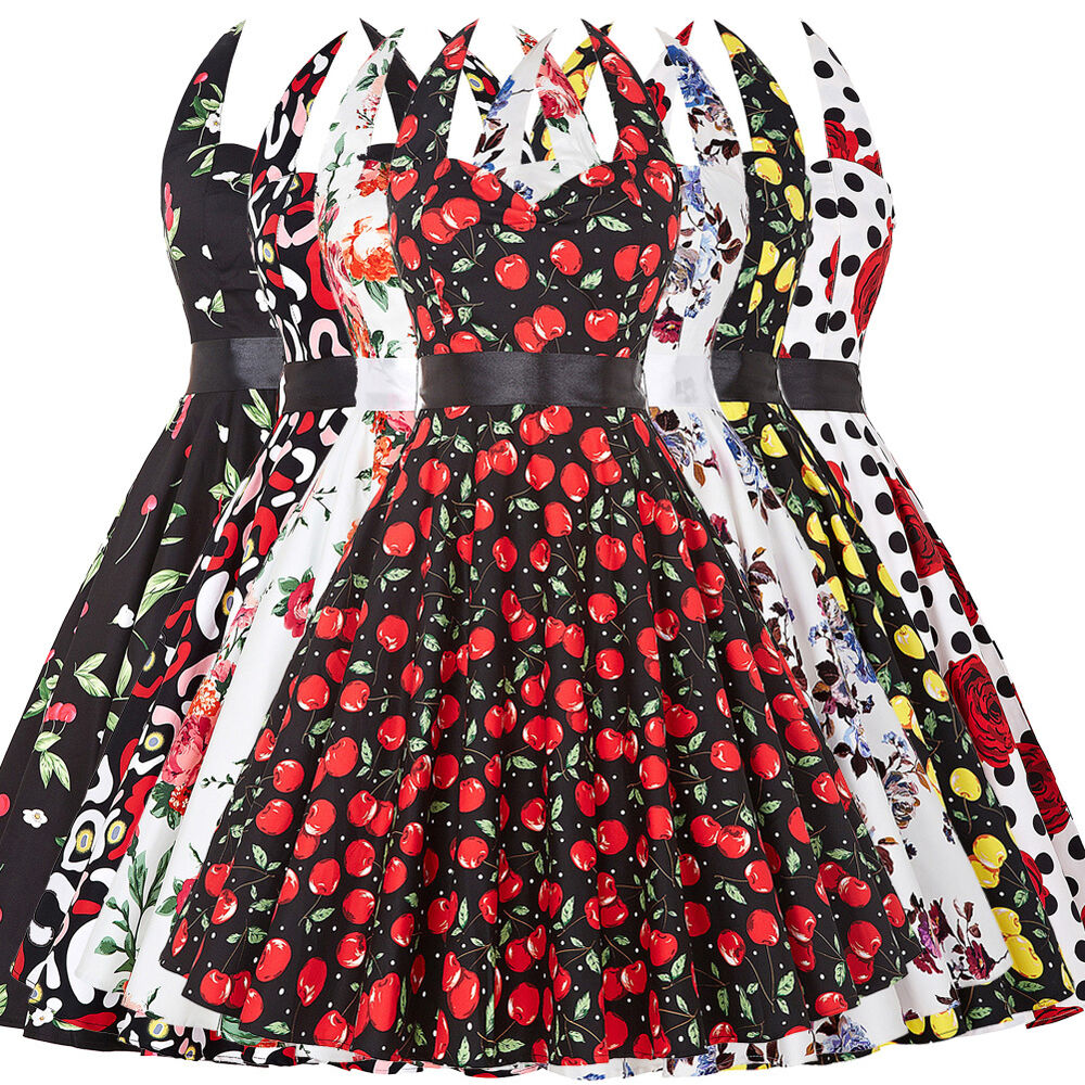 Swing 1950s 1960s housewife retro pinup formal evening dress sale