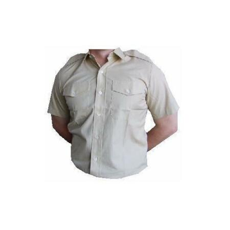 img-FAD Khaki Fawn Shirt British Army Other All Ranks Short Sleeve Service Shirt New