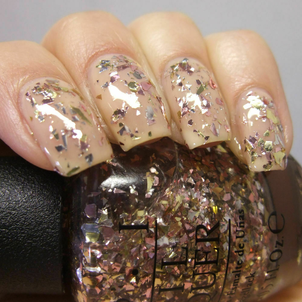 OPI - Gaining Mole-mentum - M80 Silver Rose Gold Glitter ...