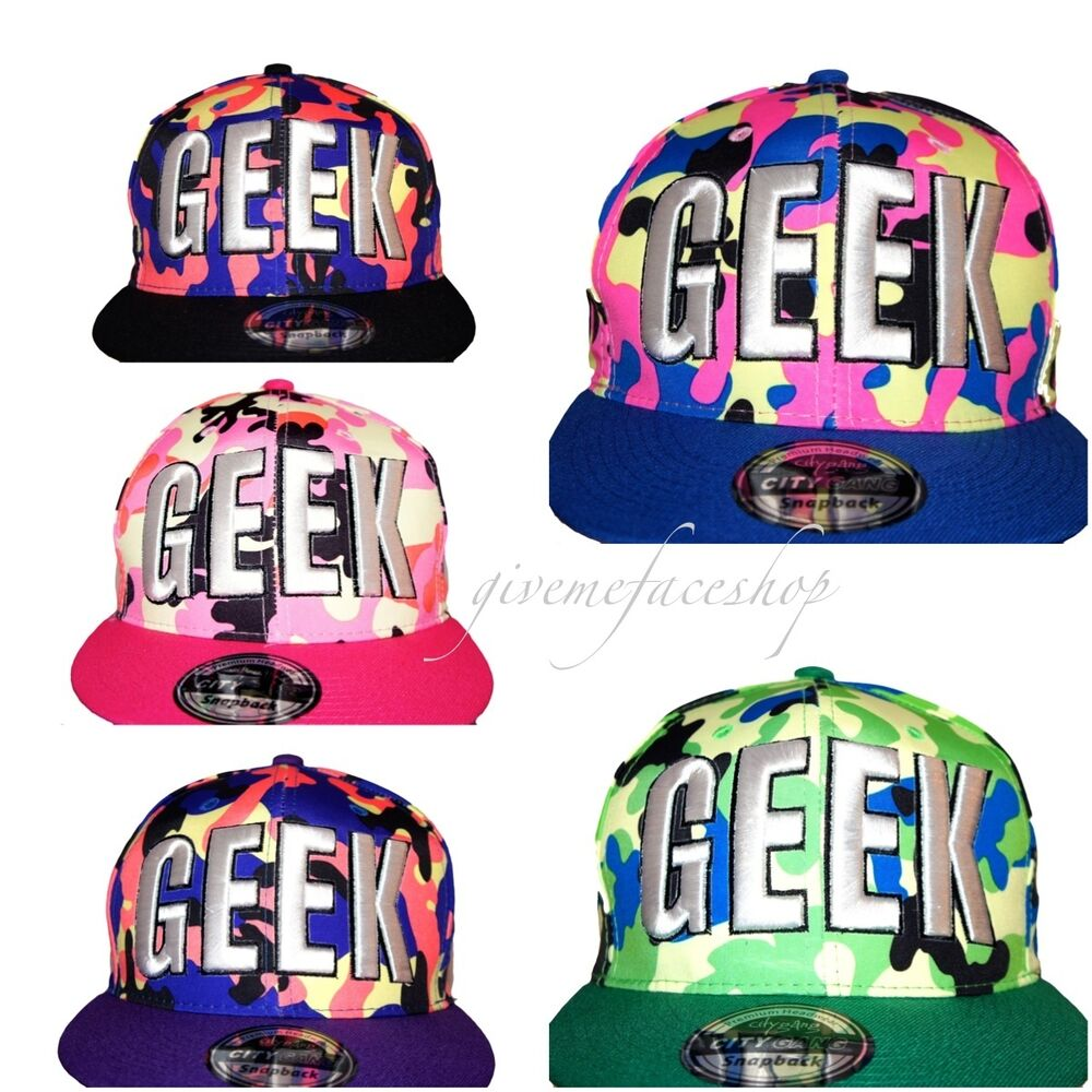 Details about Geek fresh prince snapback caps 3551273768b
