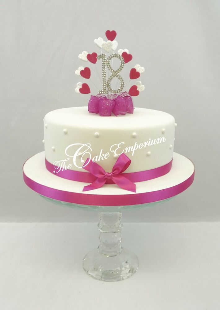 Diamante Wedding Cake Toppers