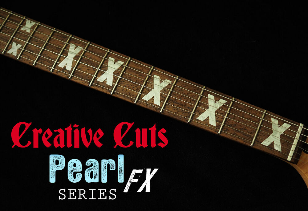 X Fret Markers Inlay Set Sticker Decal Mop For Fender
