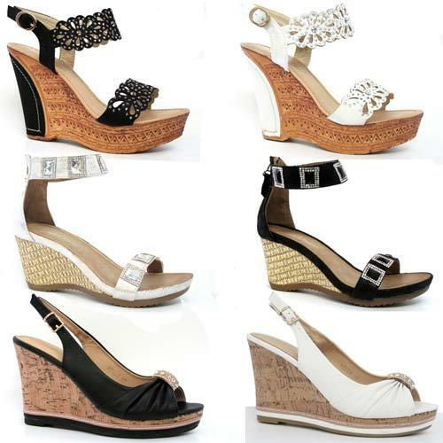 Ladies Wedge Dress Shoes Size