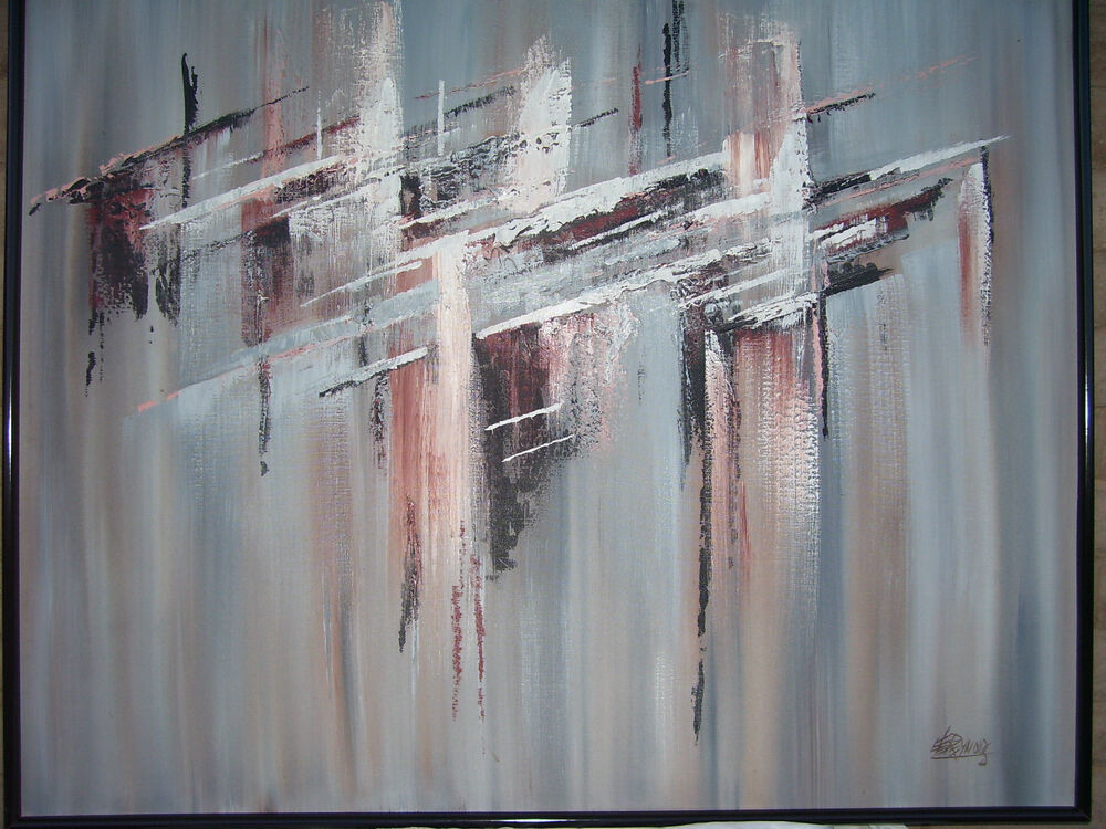 abstract oil painting lee reynolds 132919 51 x 41