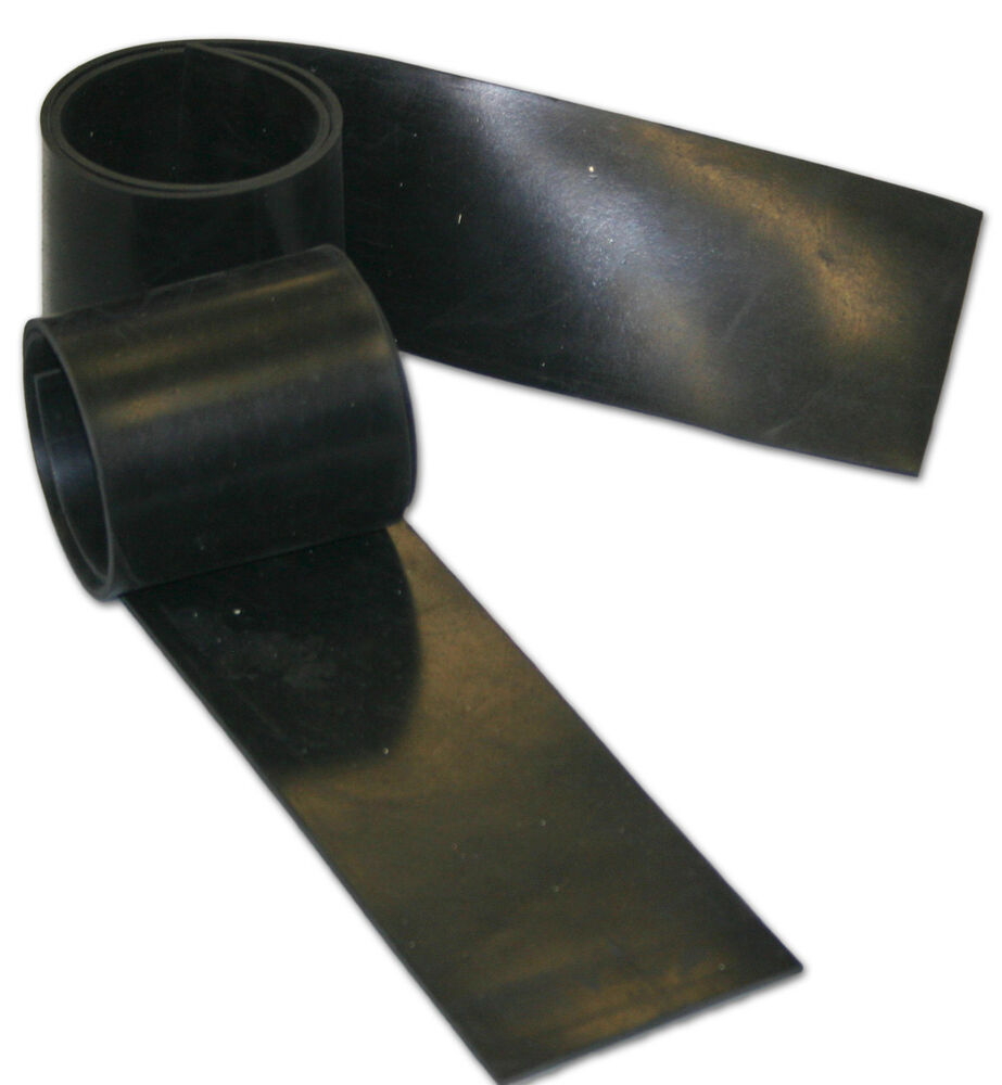10mtr X 400mm X 2mm Rubber Sheet Strip Commercial