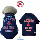 MLB Pet Fan Gear BOSTON RED SOX Tee T Shirt Tank for Dog Dogs Puppy COTTON