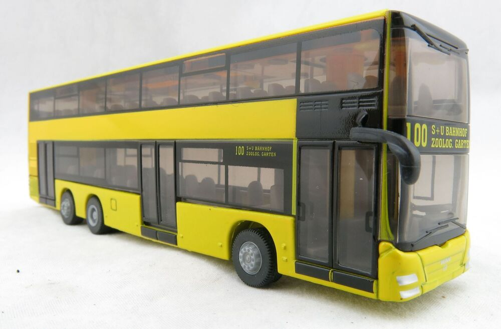 siku 1884 man doubledecker public service bus berlin h0 diecast scale 1 87 ebay. Black Bedroom Furniture Sets. Home Design Ideas