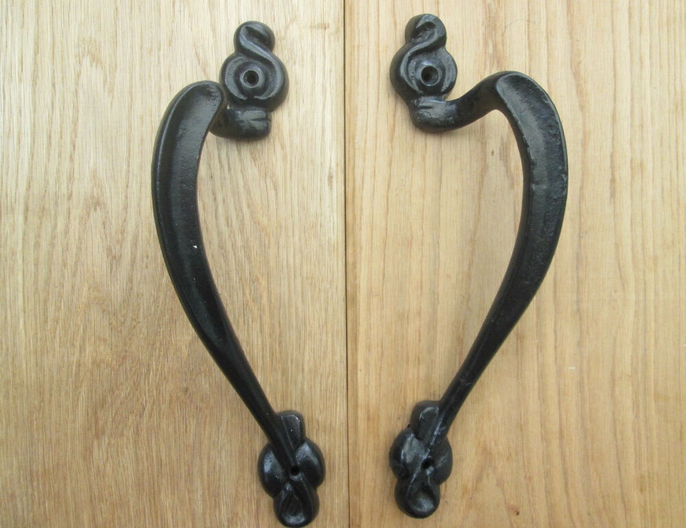 Cast Iron Vintage Old Style Decorative Fancy Heavy Gate