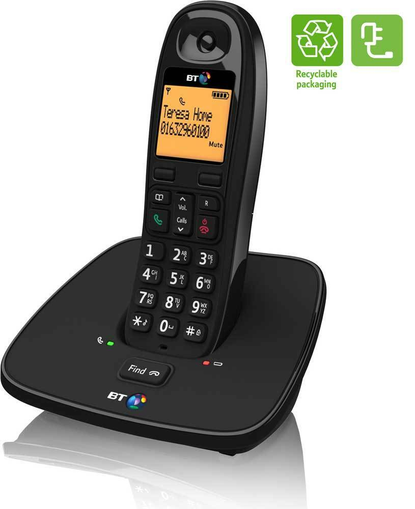 cordless home phones new bt 1000 digital cordless home phone ebay 955