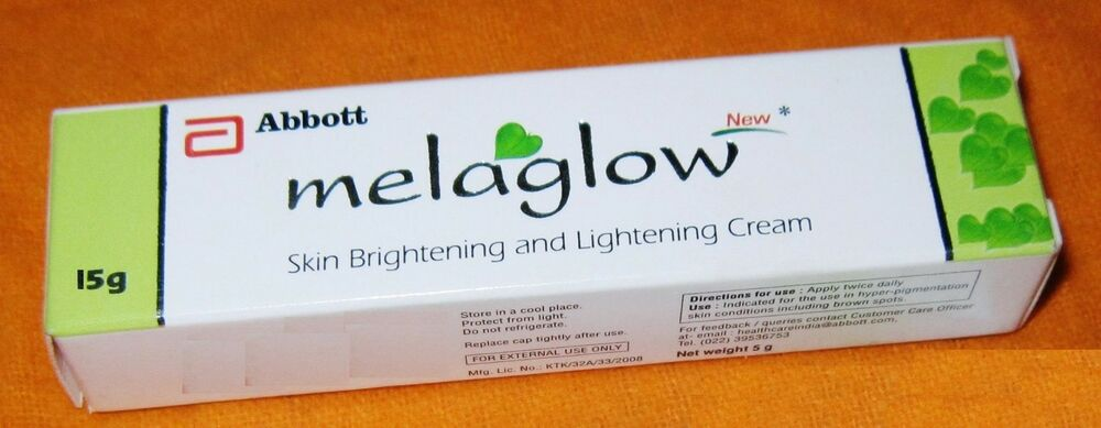 Melaglow Cream Kojic Acid Skinlightening Acne Marks