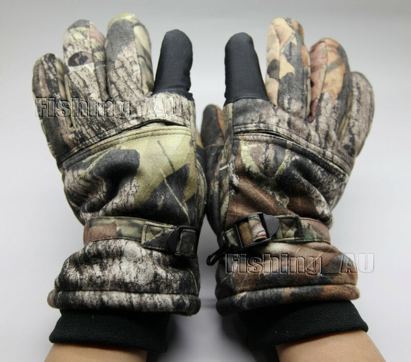 Realtree Hunting Gloves Waterproof Windproof Breathable ...