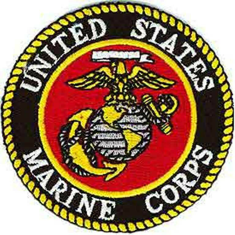 """United States Marine Corp Patch- Approx 3"""" 