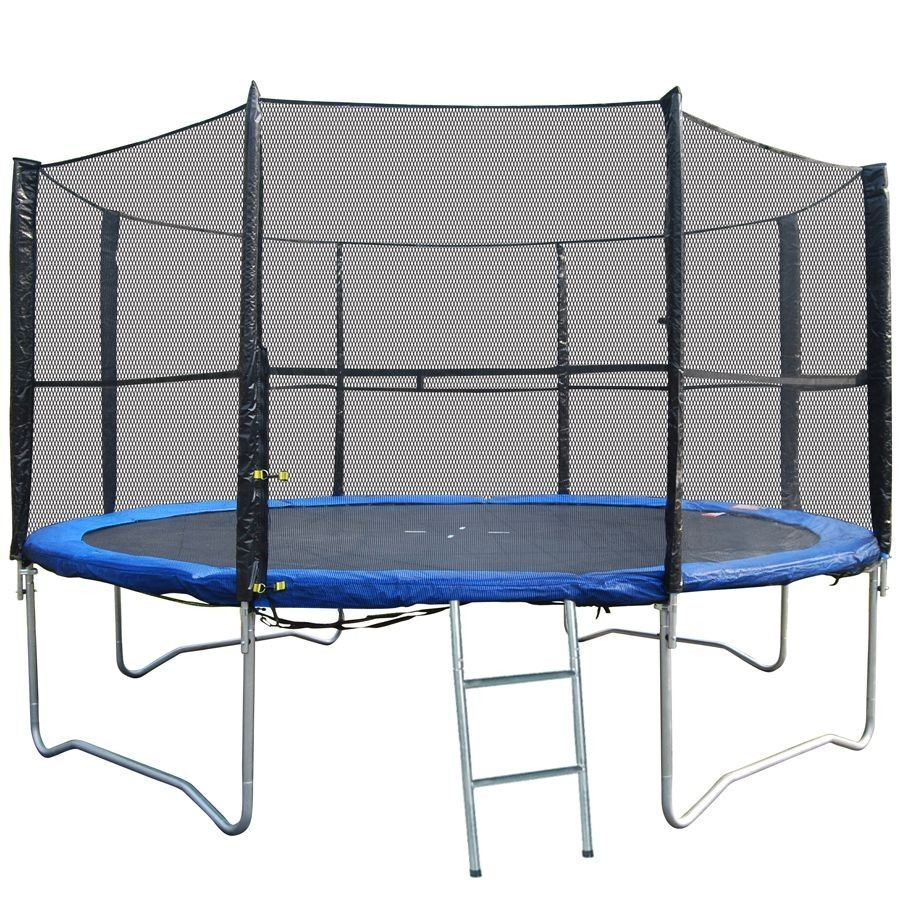 10 12 14 15 Trampoline Replacement Pad Pading Safety Net: Replacement Trampoline Safety Net Enclosure Surround 8FT