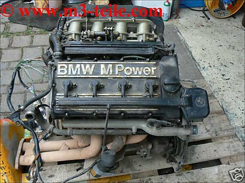 bmw m3 e30 kompl motor m 3 e 30 s14 320is engine. Black Bedroom Furniture Sets. Home Design Ideas