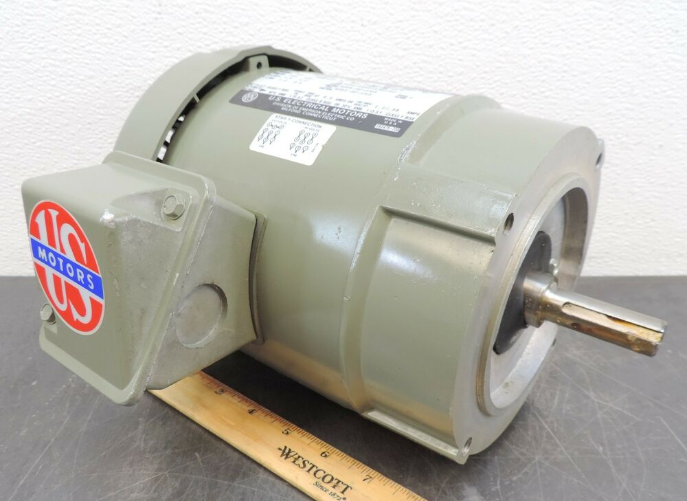 Emerson Us Motors Electrical Motor 1750 Rpm 25 Hp 230 460