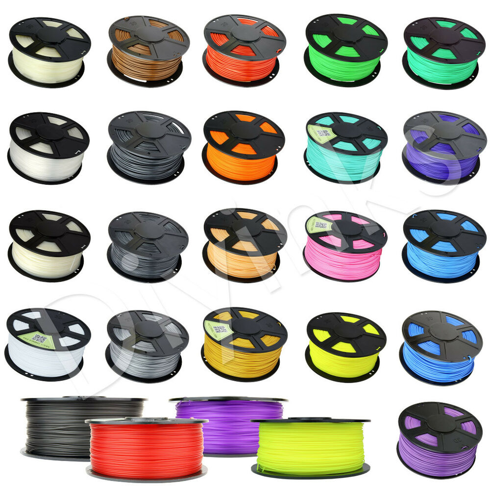 wyzworks 3d printer filament abs pla soft wood petg flexible 1kg ebay. Black Bedroom Furniture Sets. Home Design Ideas