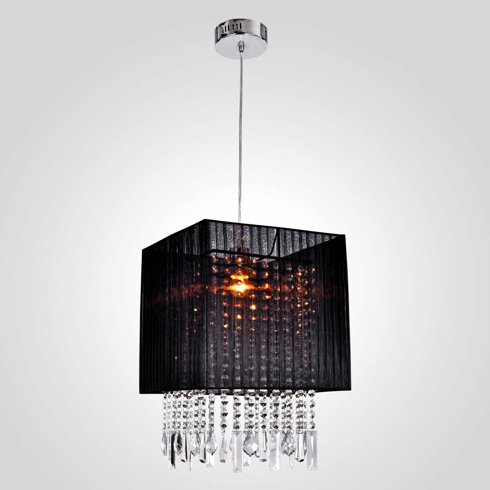 Ceiling Light Fixture Dining Room : New modern crystal chandelier ceiling lamp pendant light