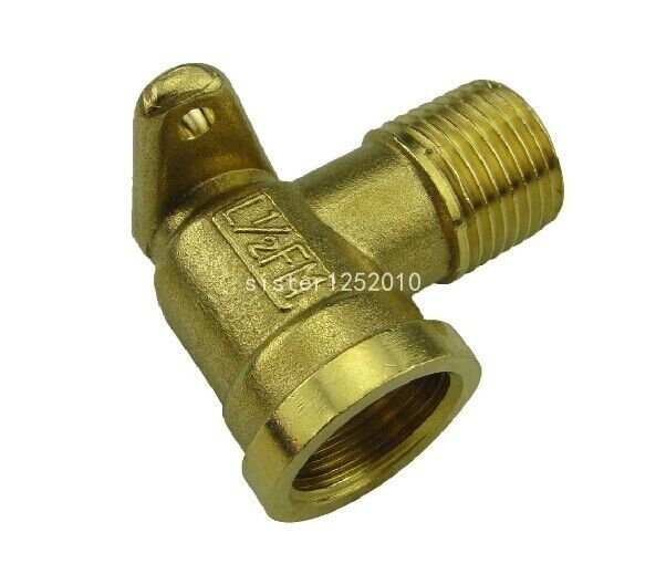 1 2 Quot Fxm 90degree Drop Ear Elbow Brass Fitting Ebay